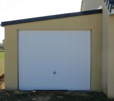 Garage Doizon, Enduit  Weber
