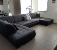 Nouveau canapé