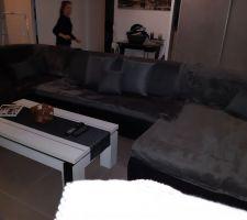 Nouveau canapé d'angle