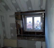 Les fenêtres sont toutes posées !!