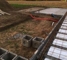 Preparation terrasse
