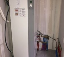 Unité intérieure pompe à chaleur