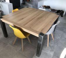 La Table est (enfin !) là !!!