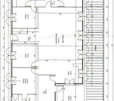 plan interieur de la maison