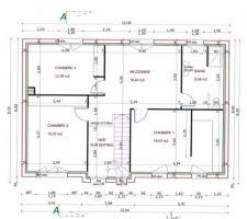 Plan de l'etage.