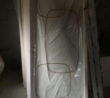 Portes HUET - TECHNIDECOR gravées, modèle TIF