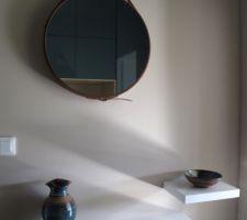 Poteries aux couleurs du meuble