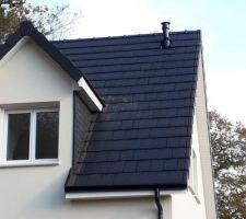 Sortie de toit conduit poêle à granules