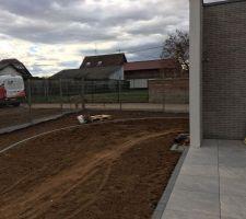 Terrasse / jardin / clôture
