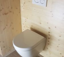 Installation du premier WC