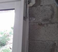 Les fenêtres ont été posées en une matinée.
