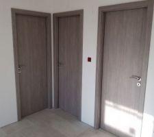 Porte interieure couleur ardoise