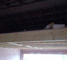 Ajout d'une mezzanine dans le garage