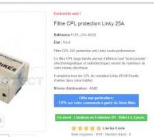 Filtre anti CPL