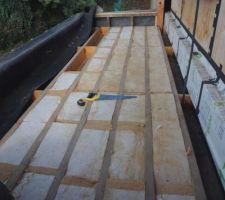 Isolation toiture de l'extension