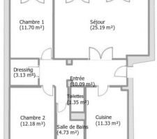 Plan appartement (approximatif)