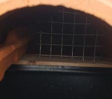 Mise en place de grilles anti piafs !! :)