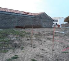 Implantation de la maison