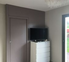 Installation tv. Porte sde