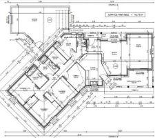 Voici le plan de notre maison Plein pied. Construction 2019 dans la Drôme :)