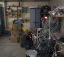 Nettoyage et rangement cave