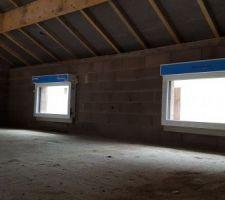 Fenêtres de la mezzanine