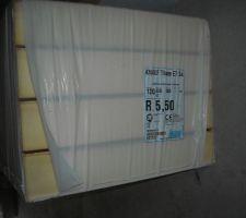 Isolation polyuréthane pour Acrotère
