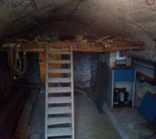 Sous sol, sous la cuisine