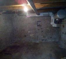 Sous sol, sous la chambre et SDB