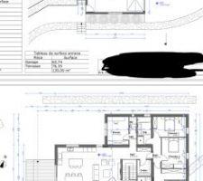 Plans étage +rdc
