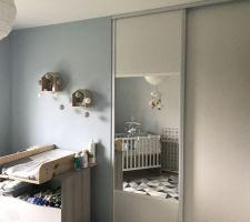 Pose portes placard chambre bébé