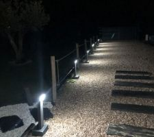 Luminaires extérieurs terminés