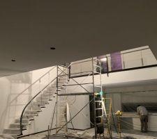 Escalier + garde-corps