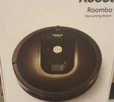 Notre aspirateur robot irobot roomba 980