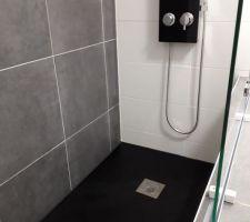 La salle de bain des invités mes douche