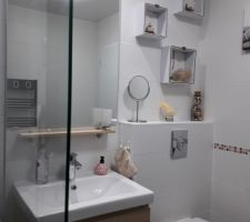 La salle de bain des invités