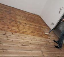 Vitrification parquet 2 éme étage