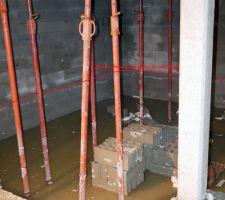 Notre sous-sol est inondé