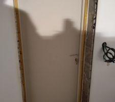Installation des portes pour les deux pièces