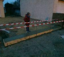Seuil pour le portail