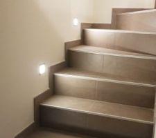 Escalier et sa lumière