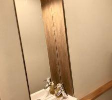 Niche toilette terminée