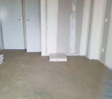 Shape ciment chambre RDC