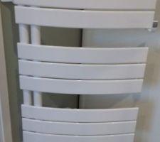 Sèche serviette salle d'eau