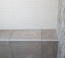 Banc de la douche à l'italienne