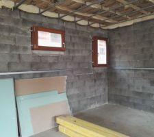 Salle de bain bas et WC