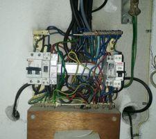Tableau électrique découverte sous le capot