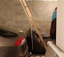 Esca-trappe combles garage
