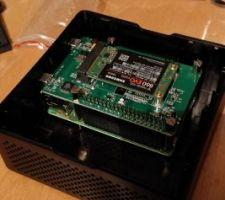 Raspberry PI3 + Boitier PI Desktop et SSD 256Go  Domotique Jeedom