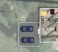 Plan 2 - aménagé
